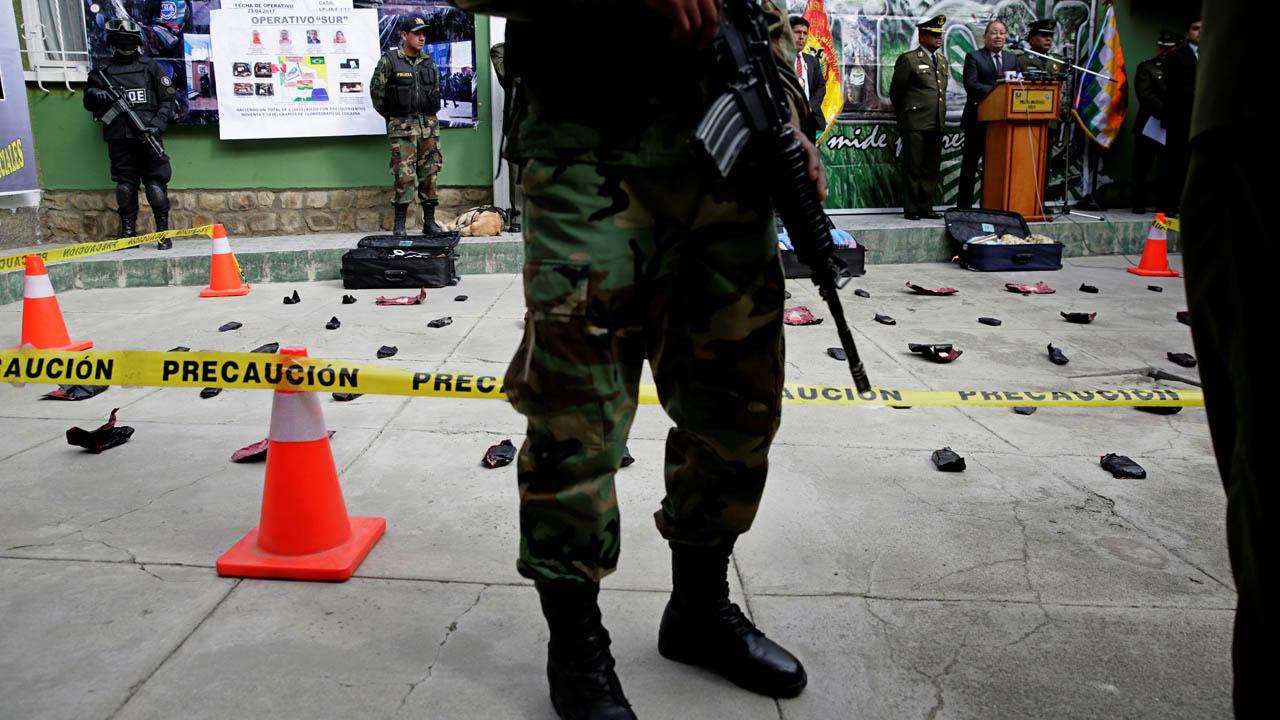 La Policía Antinarcóticos incautó más de media tonelada de cocaína que tenía como destino Brasil