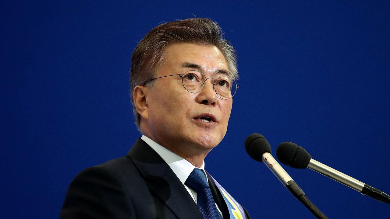 El político de centro-izquierda Moon Jae-in obtuvó el 41,4% de los votos