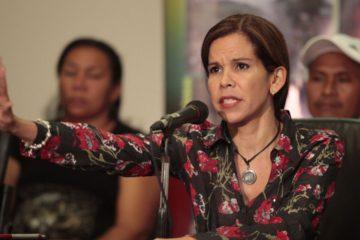 La anterior titular de la Defensoría del Pueblo, Gabriela Del Mar Ramírez asegura que continuar, sin que el pueblo apruebe el proceso, es violar los derechos humanos