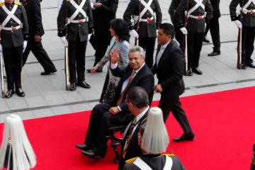 El mandatario izquierdista asumió el cargo para el período 2017-2021