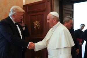 El mandatario estadounidense y el Pontífice acordaron mantener relaciones serenas entre el Estado y la Iglesia Católica