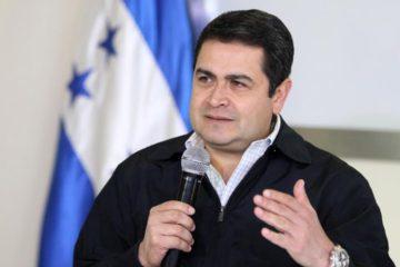 Presidente de Honduras quiere elecciones en el país