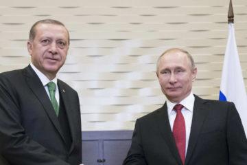 Los jefes de Estado de Rusia y Turquía quieren mejorar sus relaciones bilaterales y buscar una solución al conflicto en Siria