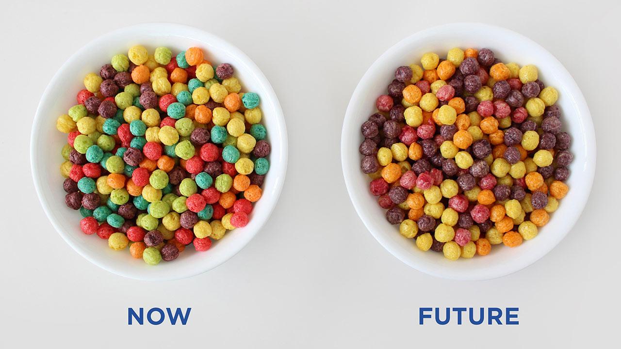 La empresa que produce Trix decidió retirar los colores neón del producto, desatando confusión entre sus consumidores