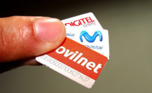 Venezuela, a diferencia de otros países, solo cuenta con tres operadoras móviles: Movilnet que pertenece al Estado y las privadas Movistar y Digitel.