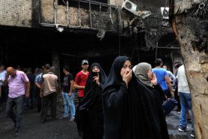 Un enfrentamiento entre la milicia del EI y las fuerzas del Gobierno dejaron un saldo de varias personas fallecidas