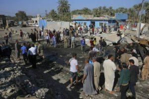 Un ataque reivindicado por el Estado Islámico, afectó a la zona de Hilla, ubicada a 100 kilómetros de Bagdad