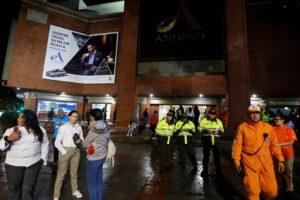 La explosion que dejo ademas 11 lesionados tuvo lugar en un baño de damas del centro comercial Andino