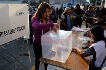 Con el conteo preliminar, Alfredo del Mazo y Delfina Gomez se adjudicaron la victoria por la gobernacion del Estado de Mexico