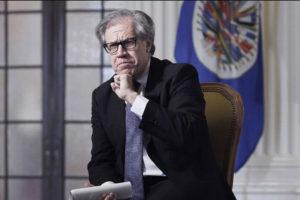 Luis Almagro aseguro que el ente vigilara que ejecuten unos comicios dentro de un marco de legalidad democratica