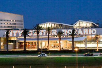 El complejo está ubicado en el hotel Pullman, sitio en el que se celebrará el viernes por la noche el matrimonio del astro de fútbol