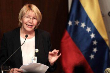 Luisa Ortega Díaz pidió a la Comisión Interamericana de Derechos Humanos medidas cautelares para el resguardo de los funcionarios