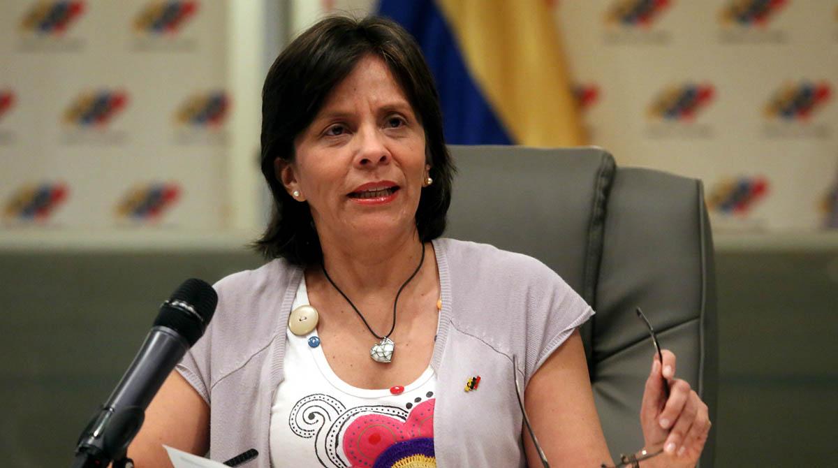 Sandra Oblitas explicó que el Poder Electoral está preparado anti contingencias que pretendan frustrar los comicios