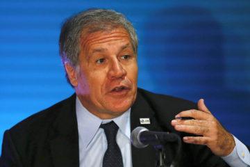 El secretario general OEA, Luis Almagro, aseguró que los DD.HH. de las personas también deben ser respetados