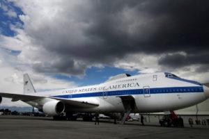 Dos aviones E4-B Boing 747 no soportaron los fuertes vientos pese a estar construidos para resistir ataques nucleares
