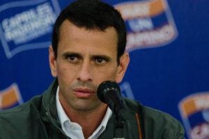 Capriles lamentó la muerte de Yoiner Peña
