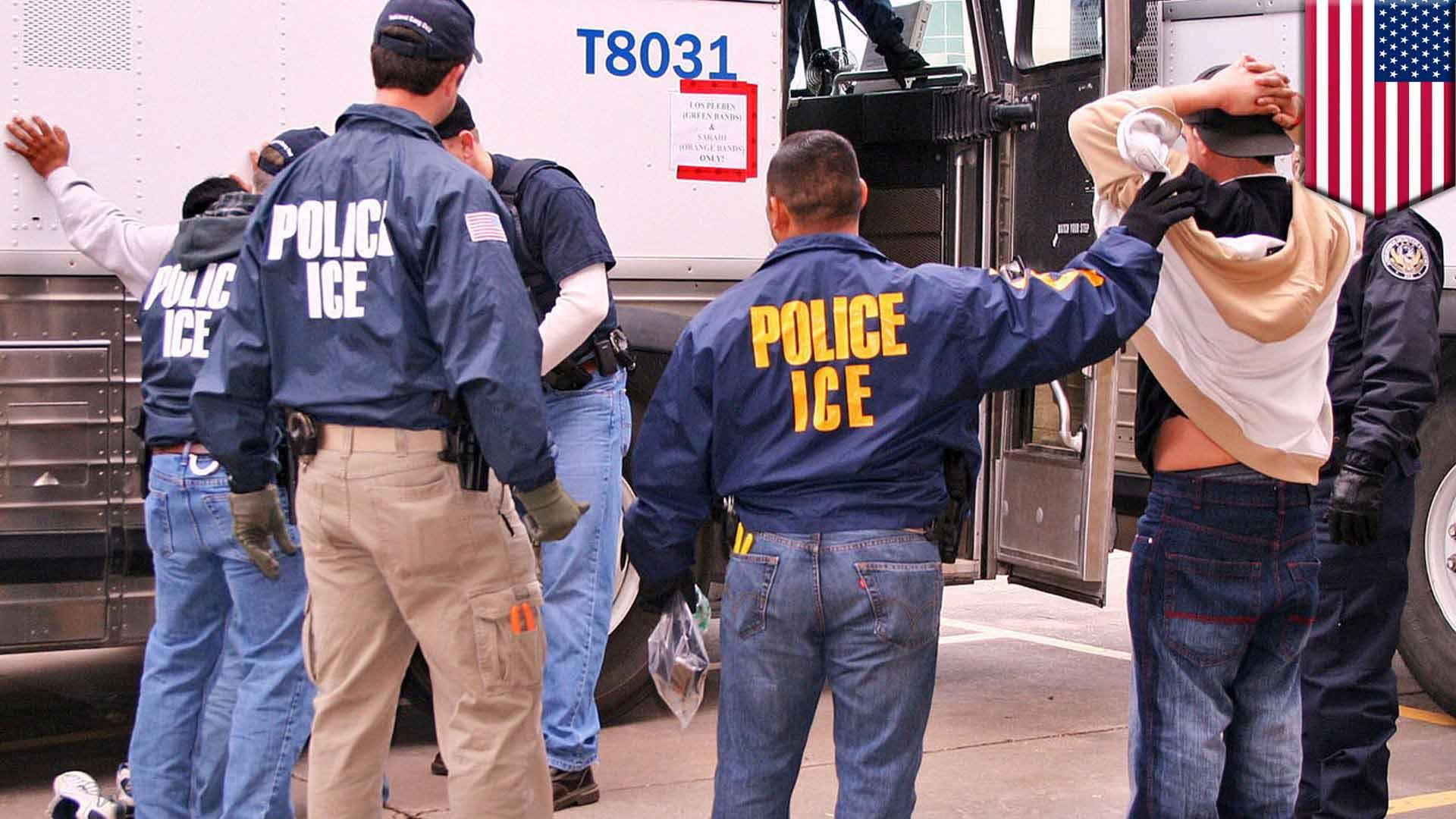 52 hombres y 2 mujeres fueron capturados en redadas realizadas en California