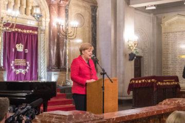 La canciller alemana aseguró estar contenta por la visita oficial y quiere fortalecer la cooperación con América Latina