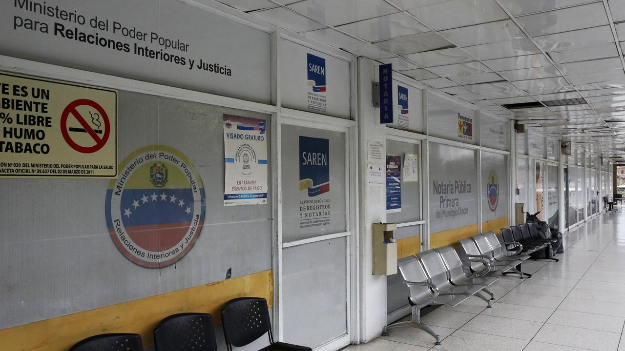 La paralización de sus operaciones se debe al daño que sufrió el servidor de datos en la sede central, ubicada en Chacao