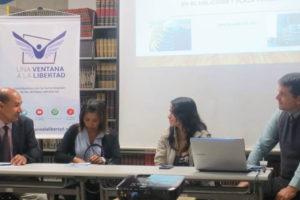La organización habló sobre la libertad de expresión