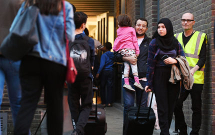 Aproximadamente 4 mil personas fueron desalojadas como medida preventiva de 650 hogares en la capital inglesa
