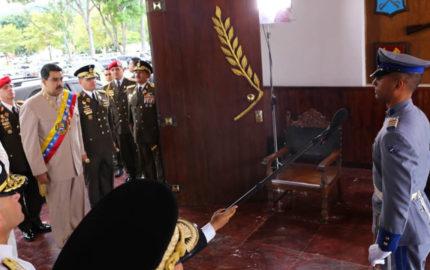 El primer mandatario nacional, Nicolás Maduro anunció a los nuevos 8 jefes de los comandos de defensa regionales