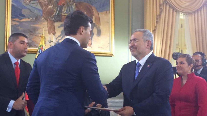 El presidente de la República, Nicolás Maduro, señala haber tenido una relación ganar,ganar en la apertura de nuevos horizontes