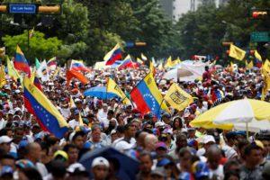 La Mesa de la Unidad dio la agenda completa de protestas para este domingo con el fin de evitar que se den las elecciones convocadas por el CNE