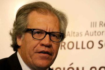 El secretario general de la OEA expreso que se están analizando los procesos jurídicos para llevar la denuncia ante la corte internacional