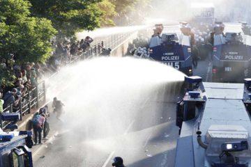 Tras la denominada marcha Bienvenidos al infierno la ciudad de Hamburgo sigue siendo escenario de protestas