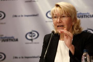 Luisa Ortega Diaz aseguro que es necesario acabar con el acoso por parte del Estado que tiene la necesidad de ser recompuesto