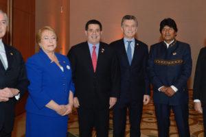 El presidente Mauricio Macri hizo la propuesta durante su discurso al inicio de la reunión de jefes de estado este viernes