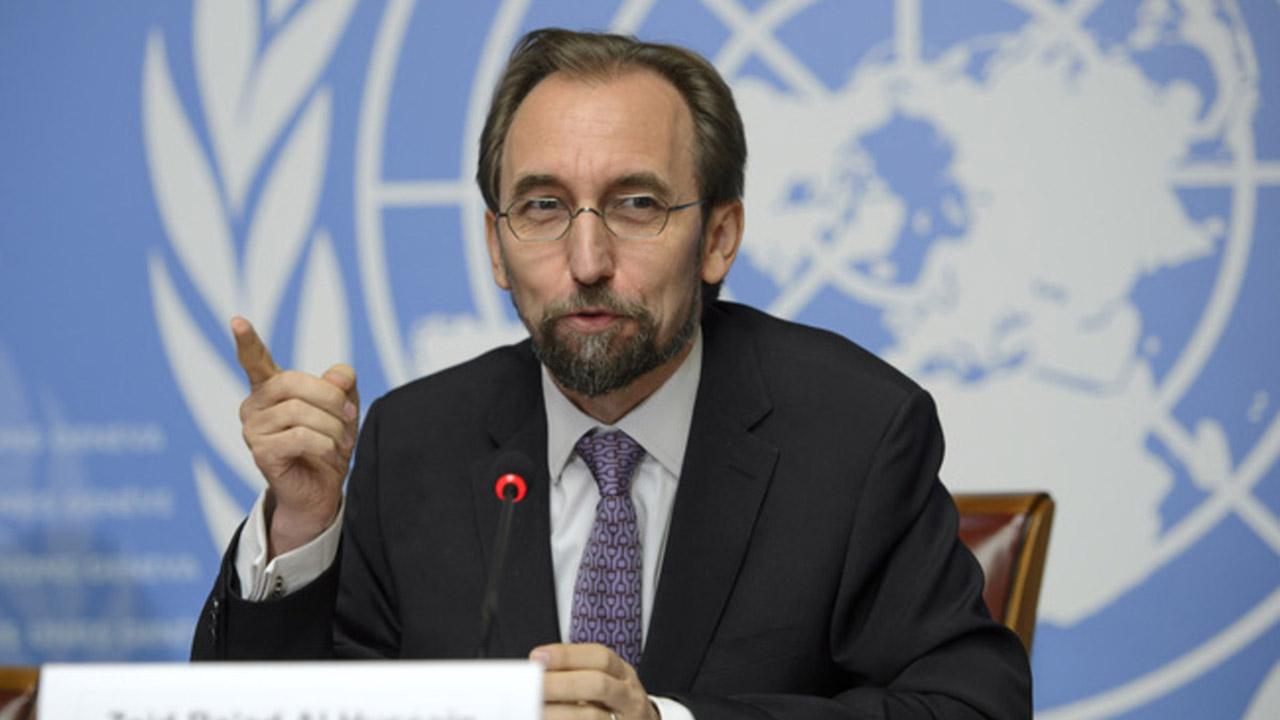 Zeid Raad Al Hussein Alto Comisionado para los DDHH resalto que lo ocurrido puede crear las condiciones para el dialogo