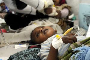 El ente aseguró que esta afección y la diarrea aguda se propagan rápidamente en Yemen, Somalia y Sudán afectado a miles de niños