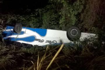 Jorge Galindo director nacional de PC informo que 6 personas resultaron heridas tras el incidente registrado en la carreter
