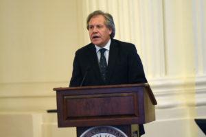 """El secretario general de la OEA aseguró que la consulta popular realizada el 16 de julio dejó las cosas """"absolutamente claras"""""""