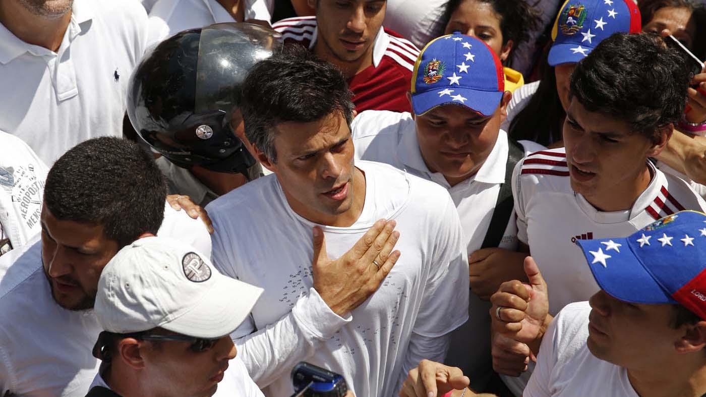 El TSJ ordenó la liberación de López y le otorgó arresto domiciliario por problemas de salud, según confirmó la corte en su cuenta oficial de Twitter