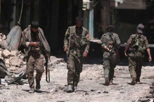 El Observatorio Sirio de Derechos Humanos detalló que los hombres viajaban en autobuses desde el norte de Alepo a la vecina provincia de Idleb