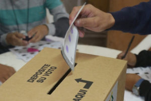 Los postulantes inscribieron sus candidaturas para 21 estados del país