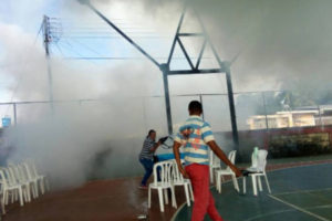 Asistentes a la consulta popular en San Enrique y el Mercado del Pescado responsabilizaron al Sebin y al Cicpc por el ataque