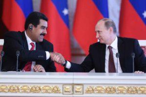 Este lunes 10 de julio los jefes de estado intercambiaron puntos de vista sobre cuestiones prácticas en la cooperación ruso-venezolana