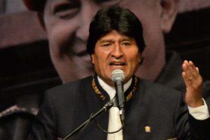 """A través de twitter, el mandatario boliviano acusó a Trump de conspirar para """"intervenir y dominar"""" al pueblo venezolano"""