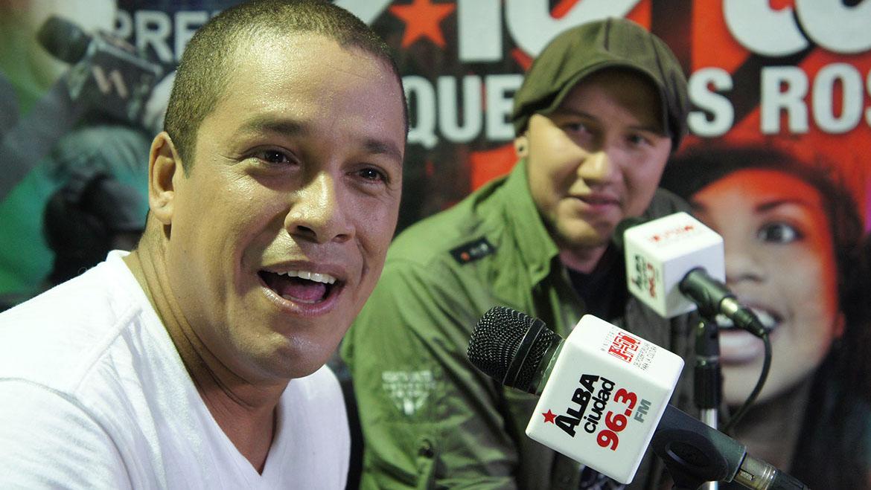 """El presentador conocido como """"Cabeza e' mango"""" se hizo responsable de las agresiones efectuadas por simpatizantes del gobierno contra las instalaciones"""