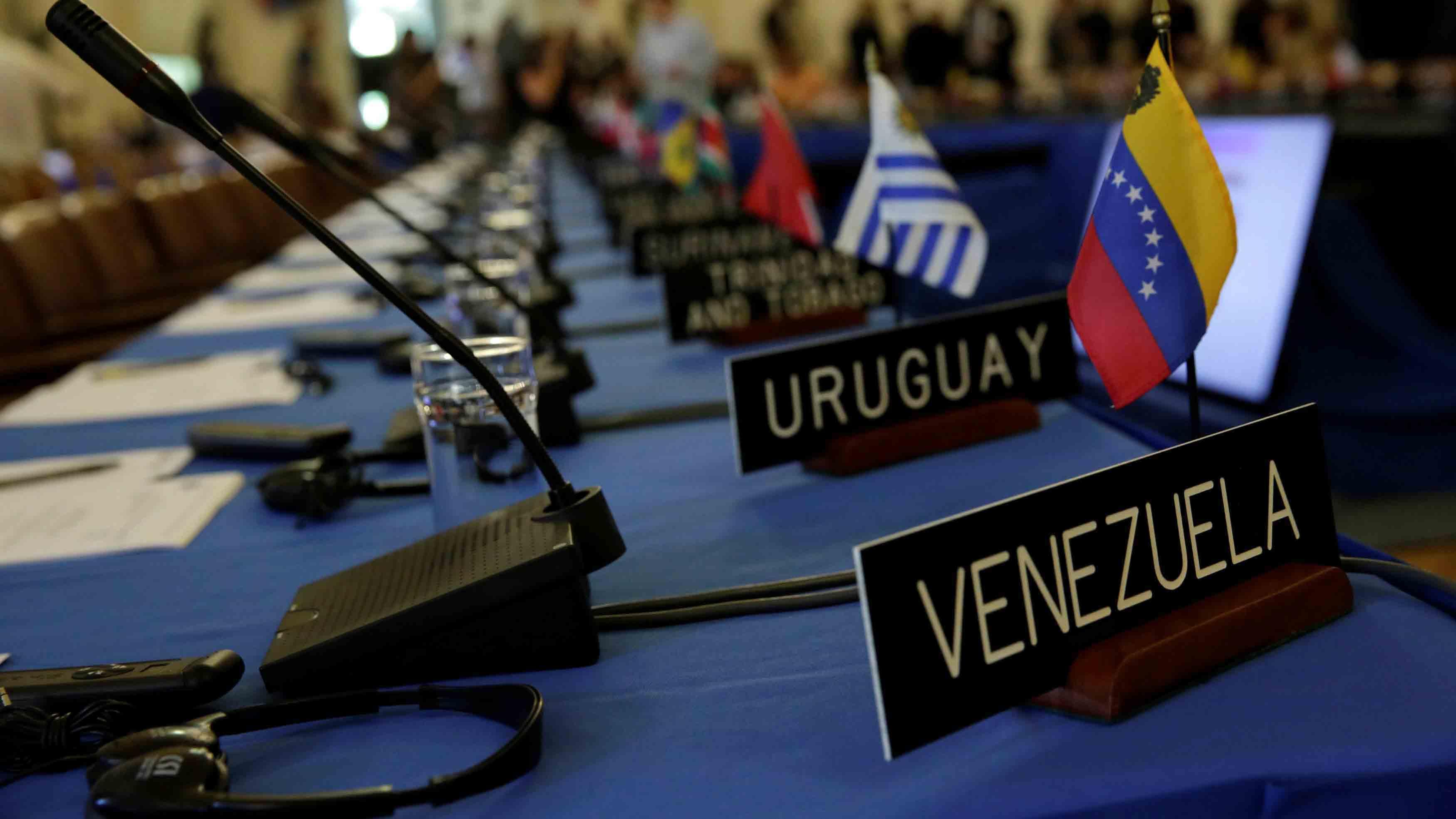 Luis Almagro, secretario general de la Organización afirmó que su solicitud cuenta con el respaldo que le da la Carta Democrática del organismo