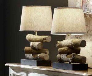 La moderna iluminación también hace uso de piezas anteriores