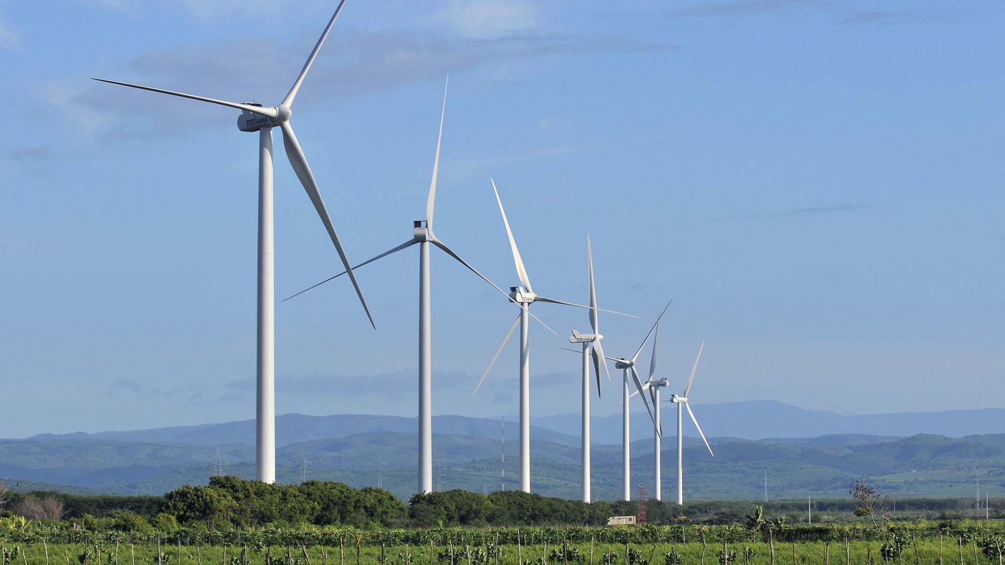El proyecto eólico es tomado como ejemplo frente al mercado de aquellas energías renovables en República Dominicana
