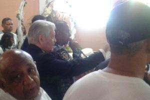 El arzobispo se mantuvo resguardado en la casa parroquial de la Iglesia El Carmen, uno de los puntos soberanos para la consulta popular de la oposición venezolana
