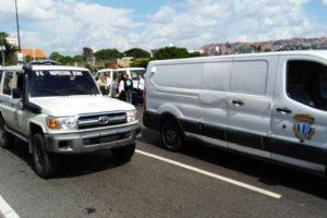 Presuntos afectos al Gobierno dispararon en contra de personas reunidas en el punto soberano ubicado en la Iglesia El Carmen, desde la Av. Sucre