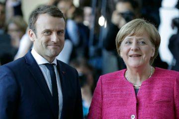 Angela Merkel y Emmanuel Macron mantuvieron una reunión con Paolo Gentiloni para enfrentar la llegada de más refugiados