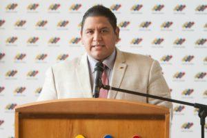 Elrectorprincipal del Consejo Nacional Electoral (CNE) aseguró que los comicios no se realizaron en condiciones justas